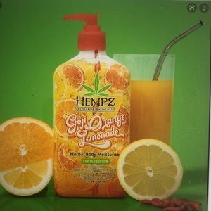 Hempz Goji orange lemonade